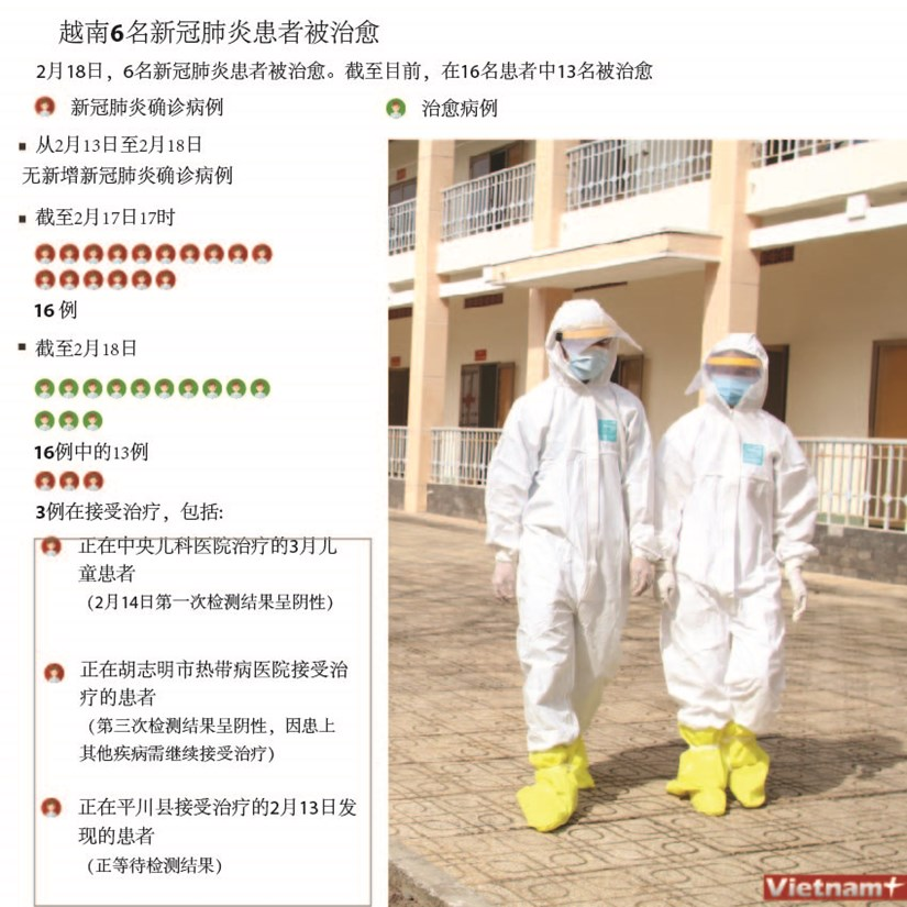 图表新闻:越南6名新冠肺炎患者被治愈 hinh anh 1