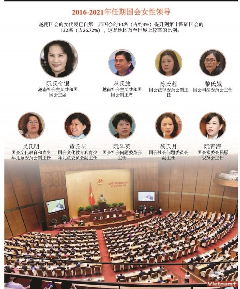 图标新闻:2016-2021年任期国会女性领导 hinh anh 1
